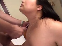 Fat asian babe fucks and gets cum bbw sex
