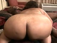 Sex addicted fatty gets off in bed bbw sex