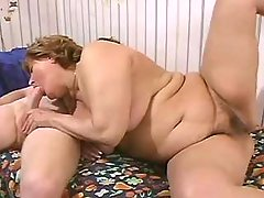 Lustful plump cutie gets slammed bbw sex