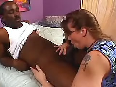 Pretty fatty gets drilled by blacky bbw sex