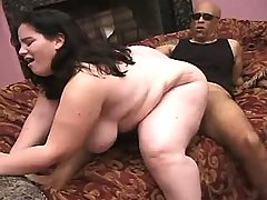 Horny BBW vixen gets nailed heavily bbw sex