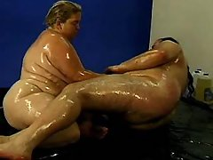 Appetizing titty fatty takes a ride bbw sex