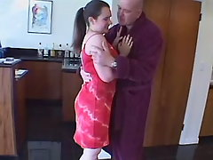 Chabby girl has oral fun w old dude bbw sex