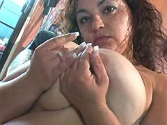Teen fatty plays with massive boobs bbw sex