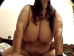 Steamy BBW slut gets plugged hard bbw sex